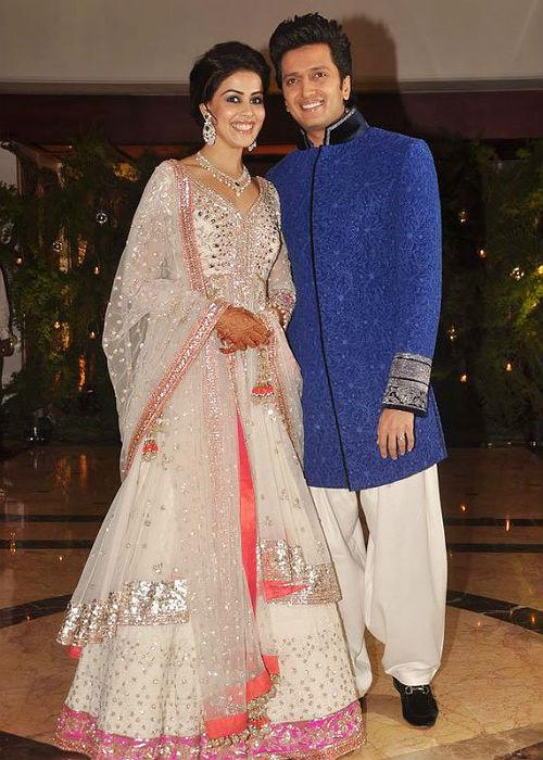 The couple tied the knot on the 3rd February but the wedding festivities began long before that. The grand wedding was preceded by the chic Sangeet ceremony which was attended by some of the most famous names in Bollywood.The ceremony was hosted at Taj Lands End in Bandra.