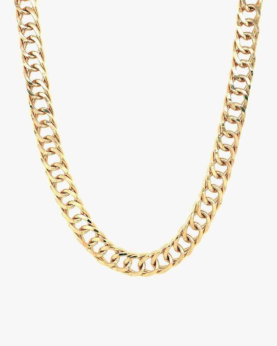 """<p><strong>Jordan Road Jewelry</strong></p><p>olivela.com</p><p><strong>$165.00</strong></p><p><a href=""""https://go.redirectingat.com?id=74968X1596630&url=https%3A%2F%2Fwww.olivela.com%2Fproducts%2Fjordan-road-jewelry-chanel-necklace-421695&sref=https%3A%2F%2Fwww.cosmopolitan.com%2Fstyle-beauty%2Ffashion%2Fg33758380%2Fjewelry-trends-winter-2020-2021%2F"""" rel=""""nofollow noopener"""" target=""""_blank"""" data-ylk=""""slk:Shop Now"""" class=""""link rapid-noclick-resp"""">Shop Now</a></p><p>Wear one solo or stack them up with your fave layering pieces. Either way, this necklace is a winner. </p>"""