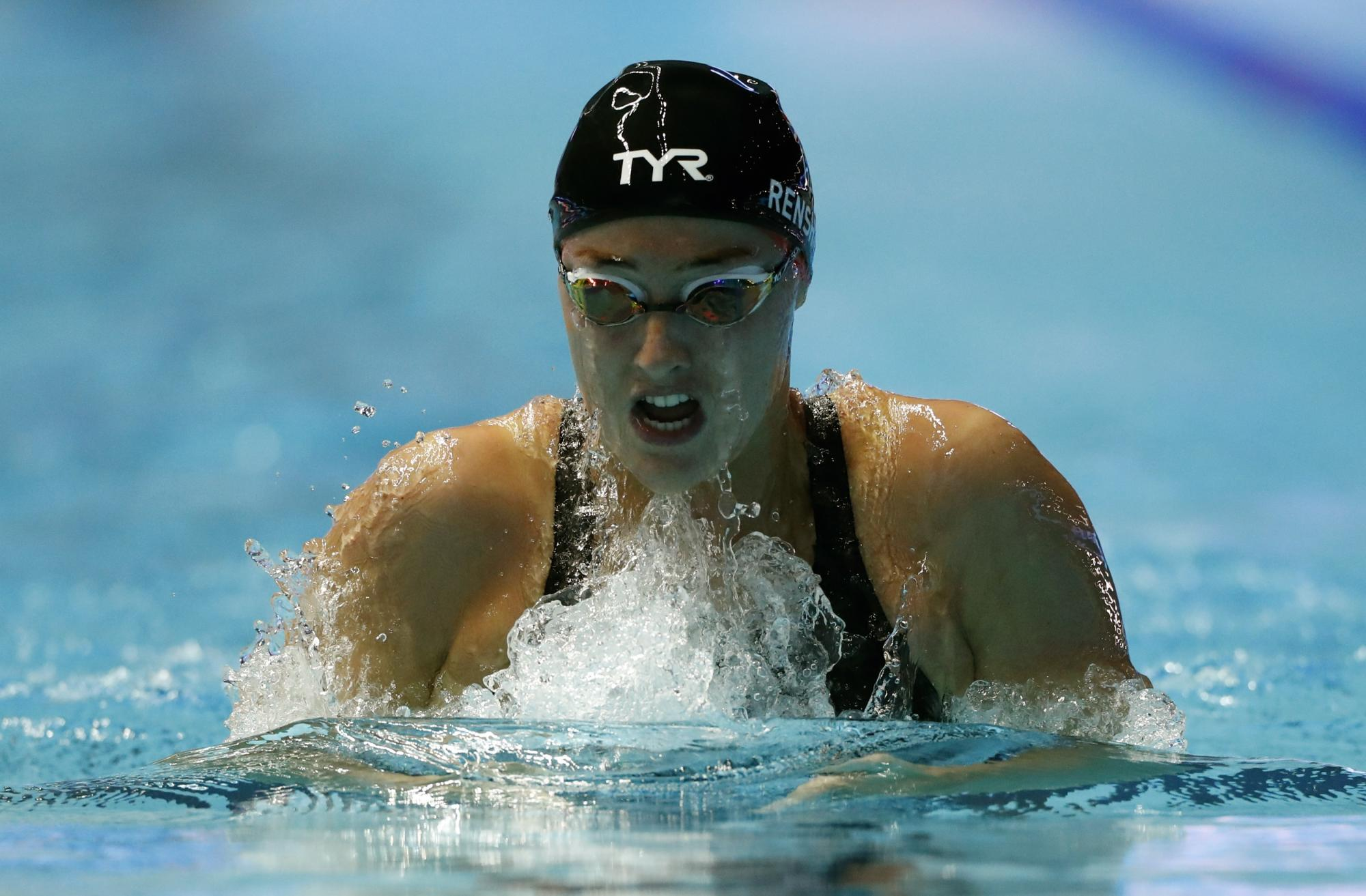 Renshaw aiming for the podium after Tokyo 2020 Olympic swimming selection