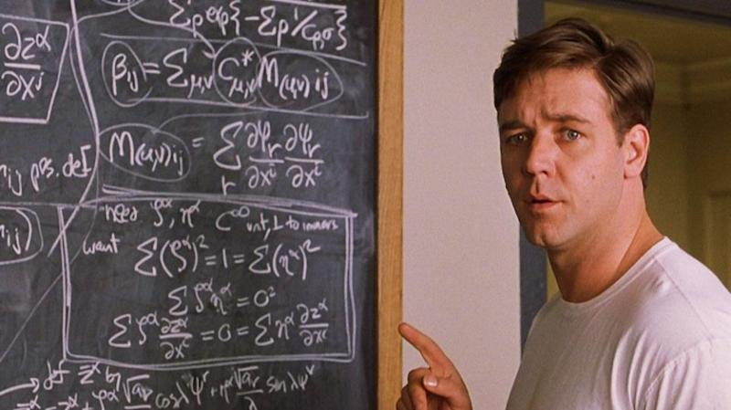 A mind-boggling math quiz is sweeping the web. Photo: A Beautiful Mind