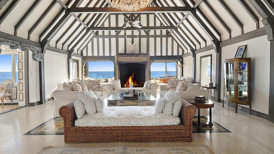 The living room - Credit: Photo: Courtesy of The Corcoran Group