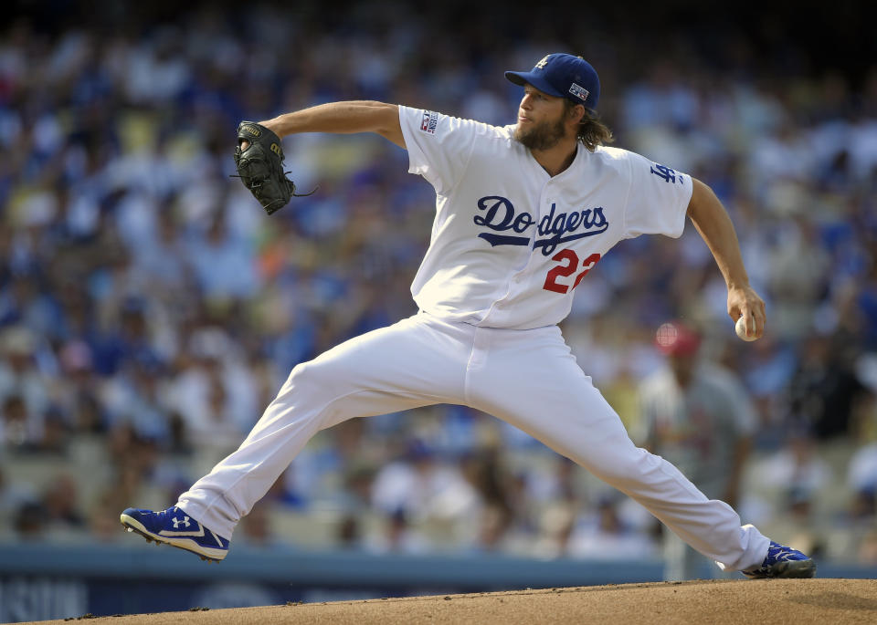 Clayton Kershaw's $70 million opt-out decision with the Dodgers will play out a couple days longer than expected. (AP Photo)