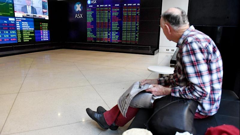 <p>The Australian share market is higher after another positive Wall Street session.</p>