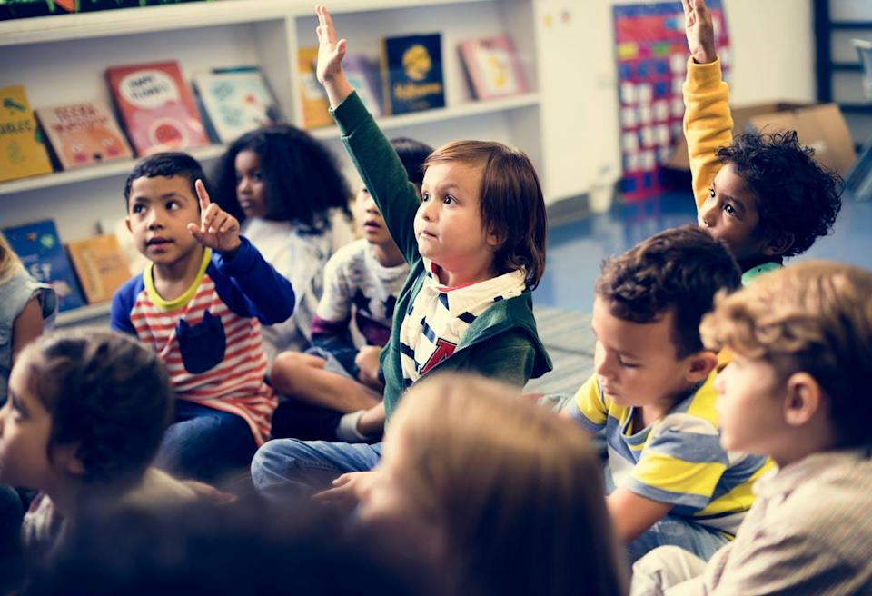 """<span class=""""caption"""">With some kindergarten children now participating in online learning, questions persist about how they will learn the competencies needed to help them flourish both socially and academically.</span> <span class=""""attribution""""><span class=""""source"""">(Shutterstock)</span></span>"""