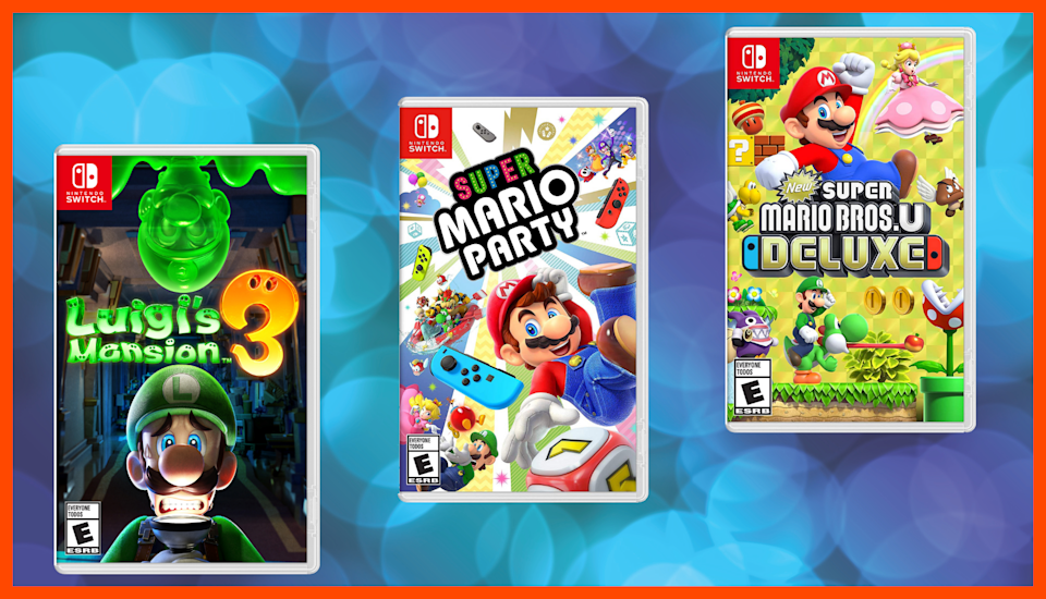 It's Mar10 Day! Walmart's having a massive sale on Nintendo Switch games. (Photo: Walmart)