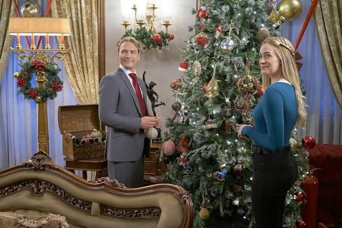 Hallmark's 'Christmas at the Palace' Was Filmed at One of the Most Regal Places Ever