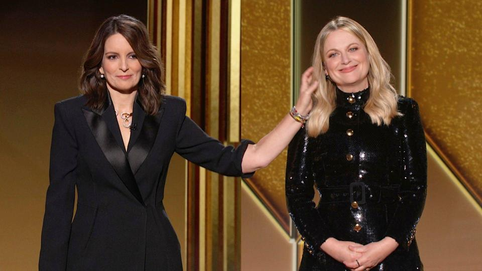 Fey and Poehler on hosting duties2021 NBCUniversal Media, LLC