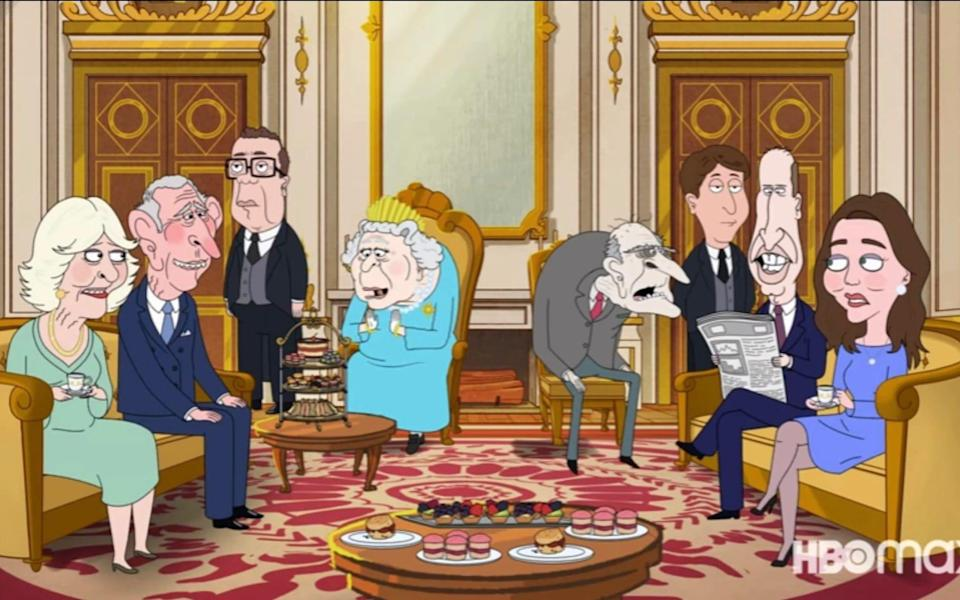 Created by Family Guy writer Gary Janetti, the series follows the imagined inner workings of the Royal family