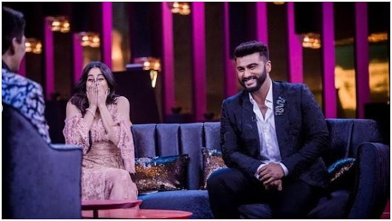Koffee With Karan 6 New Promo: Janhvi Kapoor and Arjun Kapoor's Hilarious and Awkward Conversation Will Be Fun to Watch