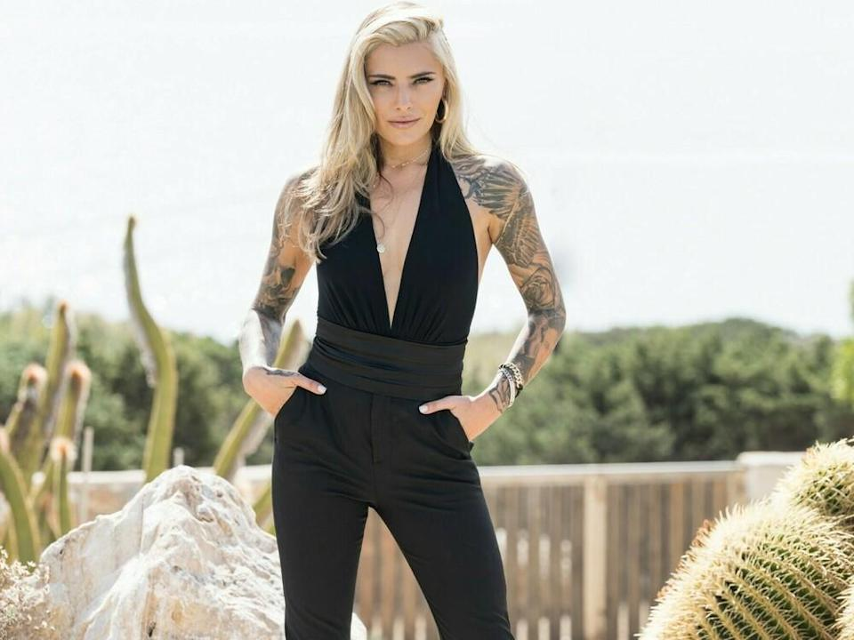 """Are You The One?""-Moderatorin Sophia Thomalla (Bild: TVNOW / Markus Hertrich)"