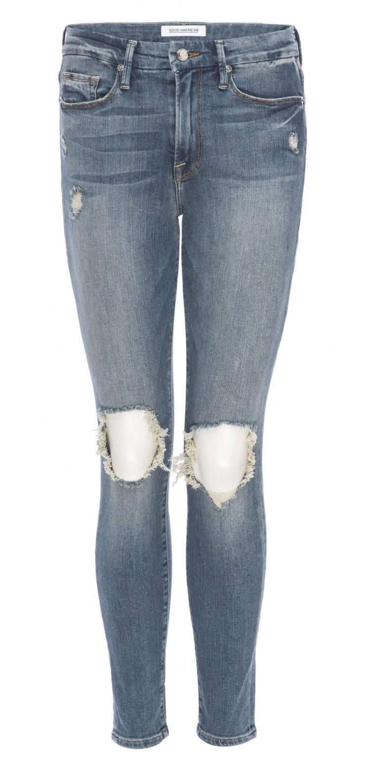 A pair of jeans from Khloe's Good American line (Photo: Courtesy of HL Group)