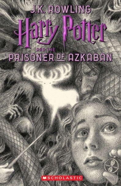 PHOTO: Scholastic's new book cover for 'Harry Potter and the Prisoner of Azkaban,' featuring art by Brian Selznick, is pictured here. (Brian Selznick (c) 2018 by Scholastic Inc.)