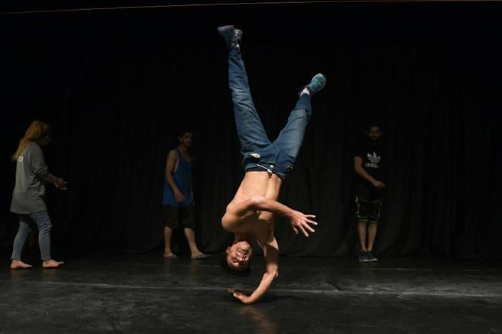 Breakdancing first originated in New York's Bronx borough in the 1970s (AFP Photo/WAKIL KOHSAR)