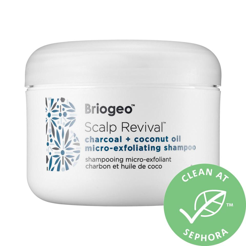 <p>Product buildup and clogged pores can make scalps itchy and irritated, but this bestselling <span>Briogeo Scalp Revival Charcoal + Coconut Oil Micro-Exfoliating Scalp Scrub Shampoo</span> ($42) exfoliates away the flakiness and adds coconut oil as a supermoisturizing boost.</p>