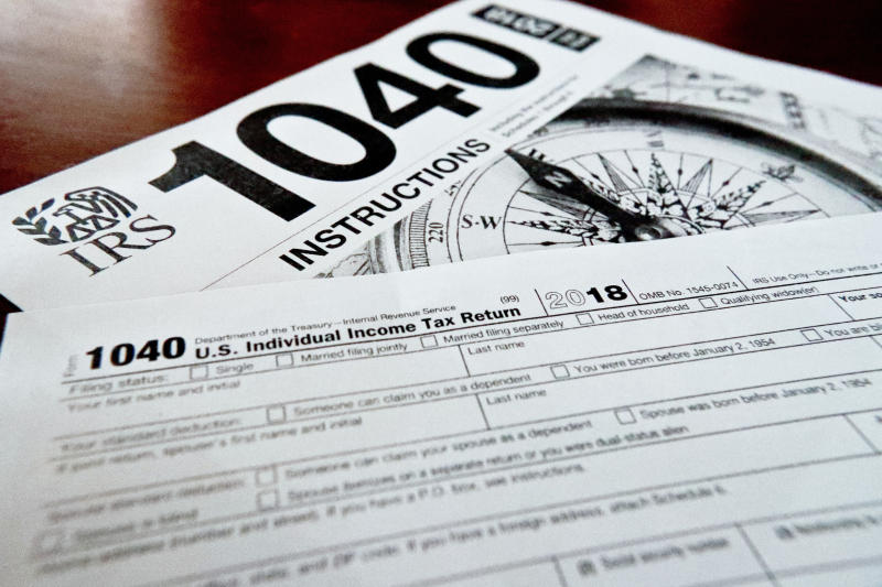 IRS data shows refunds down 2% under new law