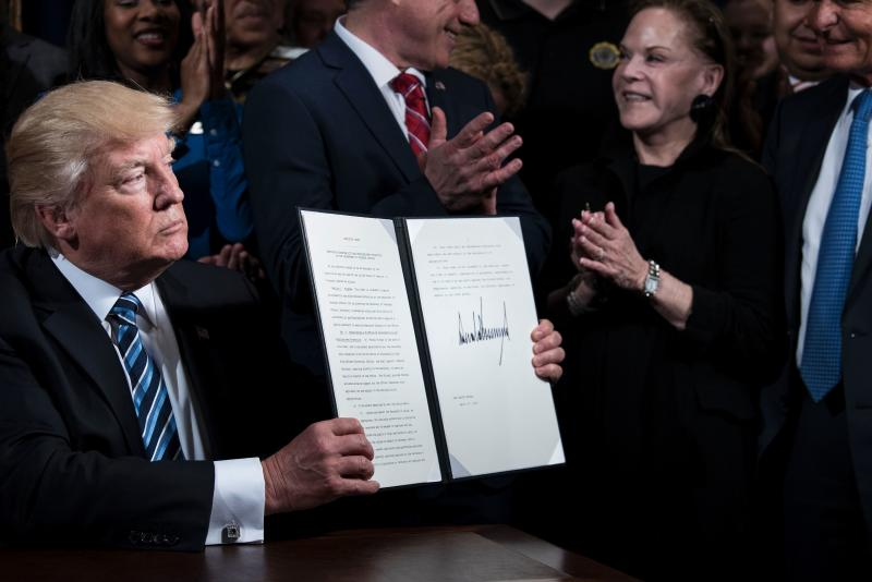 President Trump Creates Accountability and Whistleblower Protection Office at the VA