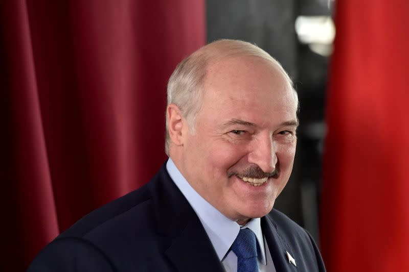 Belarusian election commission says Lukashenko was re-elected by a landslide