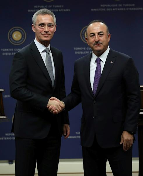 NATO chief Jens Stoltenberg hailed Turkey's position in NATO, which Ankara joined in 1952 with strong American support