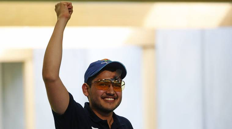 Anish Bhanwala shot a CWG Games record score of 30 to claim the top prize in the men's 25m rapid fire pistol event last year. (Reuters/File)