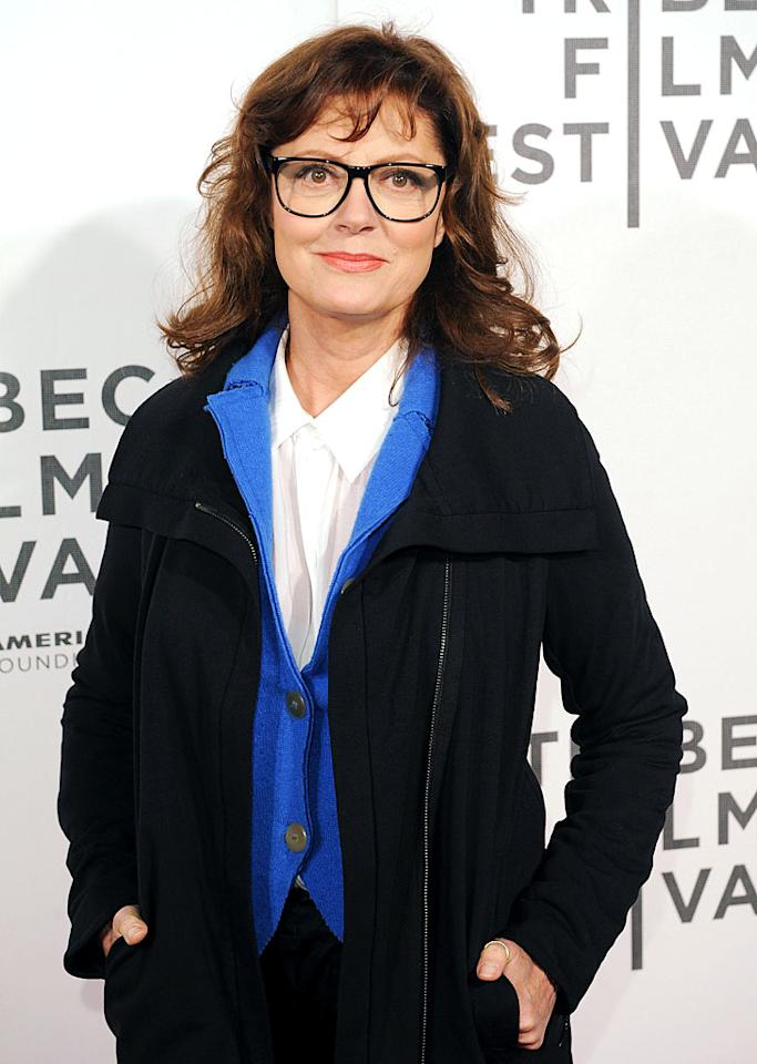 "Now 65, Susan Sarandon, who will soon be starring in a film called ""Mother's Day"" with her daughter Eva Amurri, has started wearing glasses more recently. Perhaps they help with her ping-pong game. The actress, seen here at the Tribeca Film Festival in April, is an investor at the Manhattan ping-pong nightclub, SPiN."