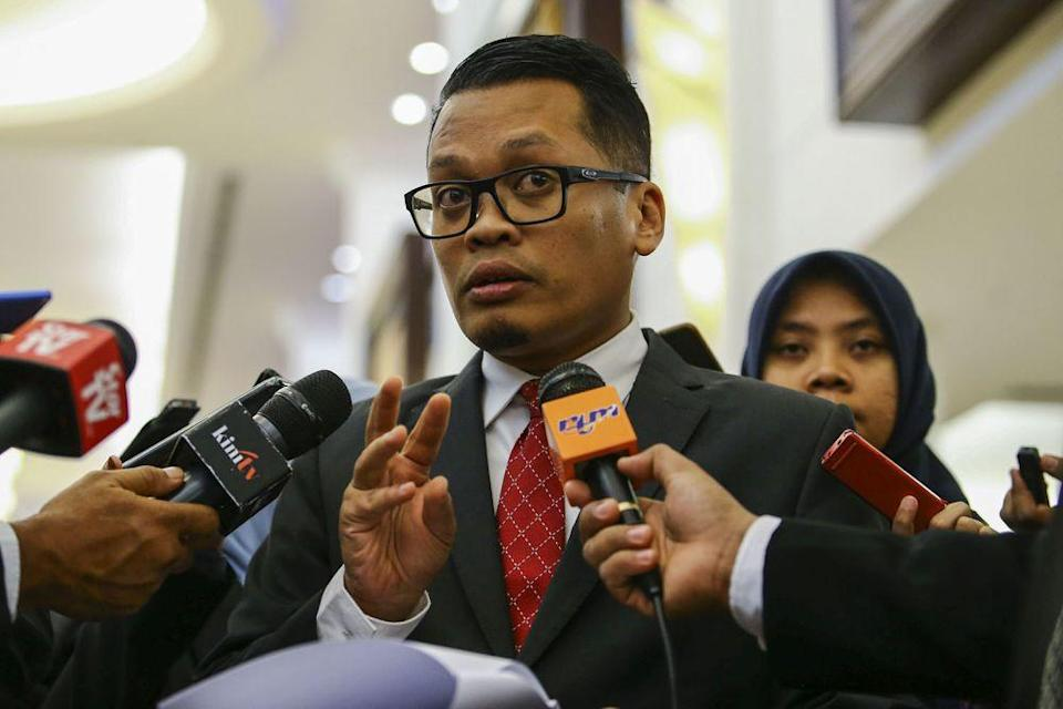 A statement released by PKR chief organising secretary Nik Nazmi Nik Ahmad said the list was formulated to raise the effectiveness of PKR parliamentarians. — Picture by Hari Anggara