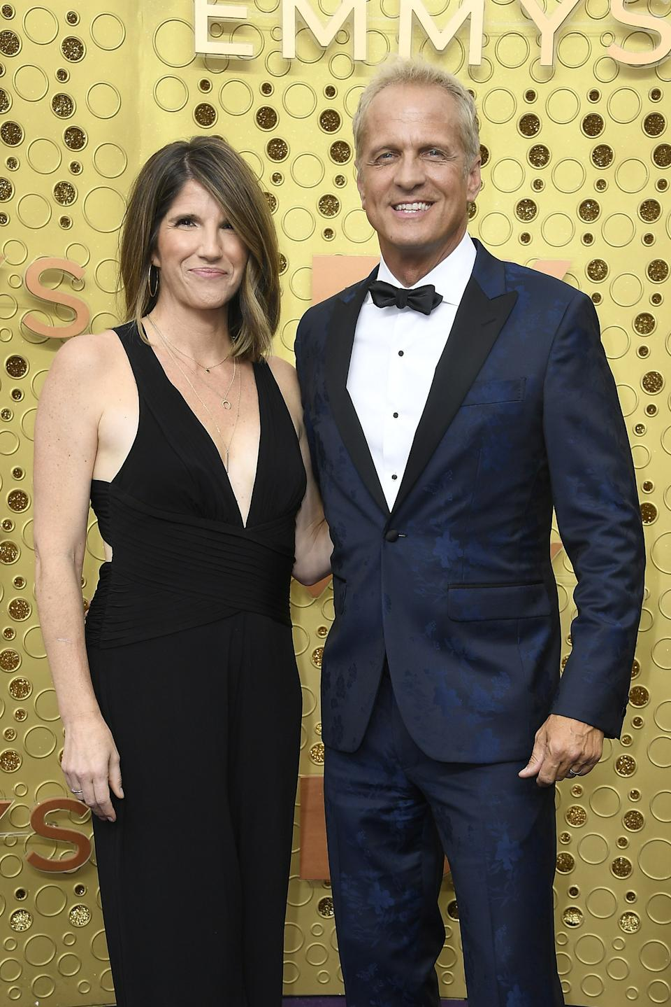 """<h1 class=""""title"""">Mandy Fabian and Patrick Fabian in Brooks Brothers</h1><cite class=""""credit"""">Photo: Getty Images</cite>"""