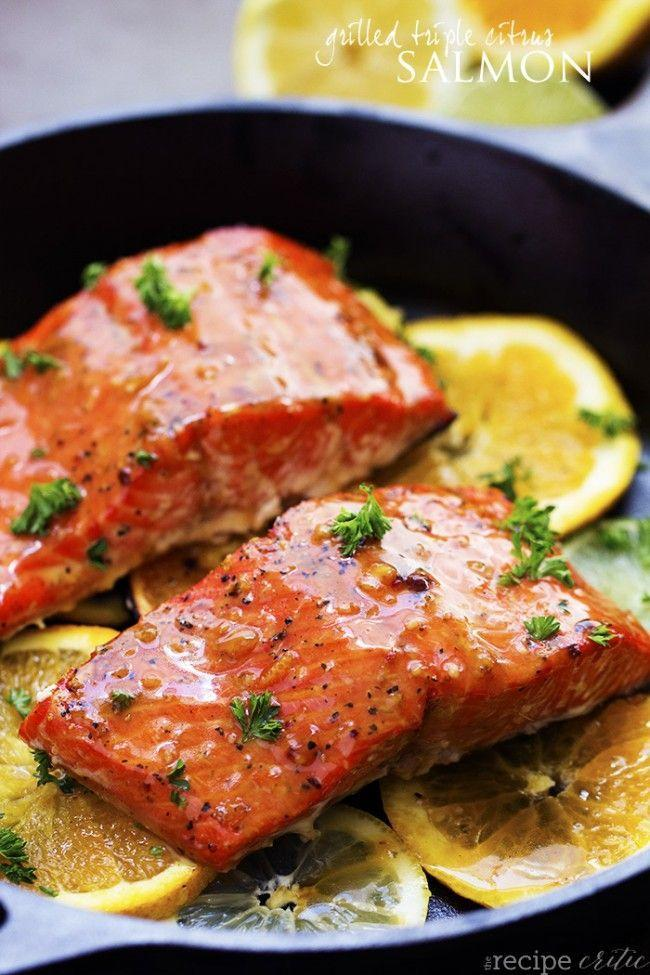 """<p>Tangy is an understatement.</p><p>Get the recipe from <a href=""""http://therecipecritic.com/2015/06/grilled-triple-citrus-salmon/"""" rel=""""nofollow noopener"""" target=""""_blank"""" data-ylk=""""slk:The Recipe Critic"""" class=""""link rapid-noclick-resp"""">The Recipe Critic</a>.</p>"""
