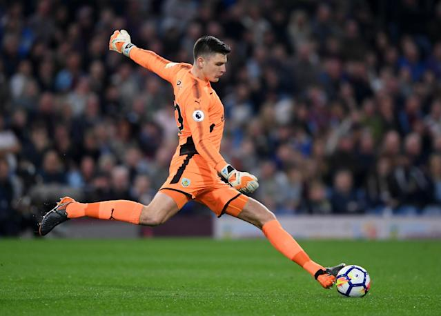 <p>Nick Pope<br> Age 26<br> Caps 0<br>Would barely have been on the radar of most Premier League fans at the start of the season but has been in irresistible form for Burnley since an untimely injury to Tom Heaton in September. Yet to wear the Three Lions at any level but got the nod ahead of the experienced Joe Hart.<br>Key stat: Began the season without a top-flight appearance but ended it with 11 clean sheets, matching all-time record holder Petr Cech for the year's fifth-best tally. </p>