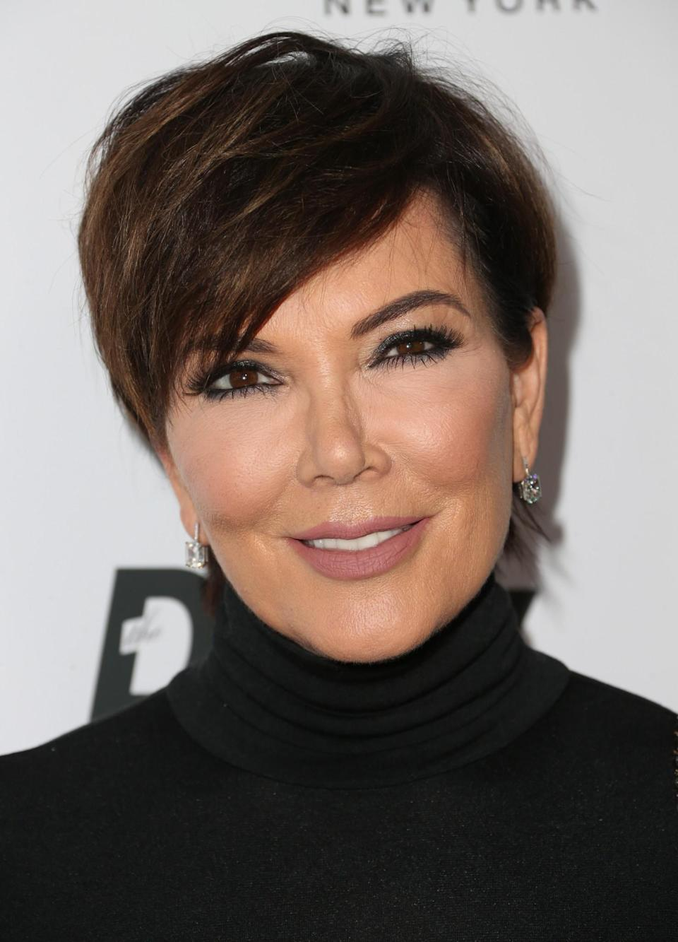 <p>Everyone's fave momager Kris Jenner has stuck with her short crop over the years even though the rest of the Kardashian clan are big fans of hair extensions. [Photo: Getty] </p>