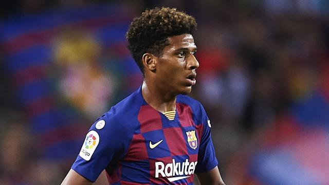 The young Frenchman is looking to leave the La Liga champions, with a Bundesliga club interested in his services