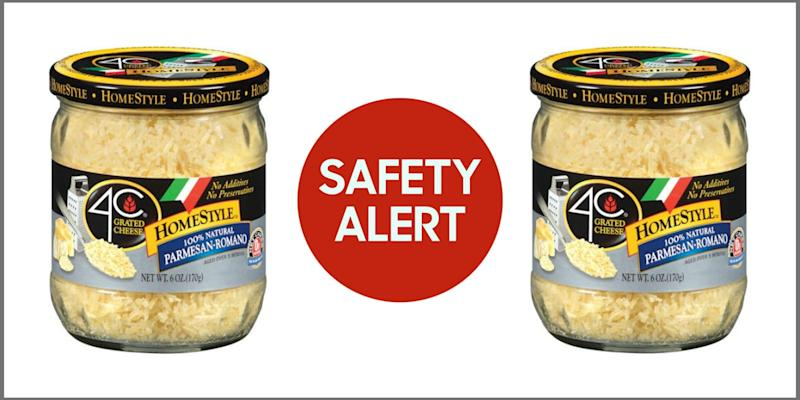 Home Style All Natural Parmesan Recall