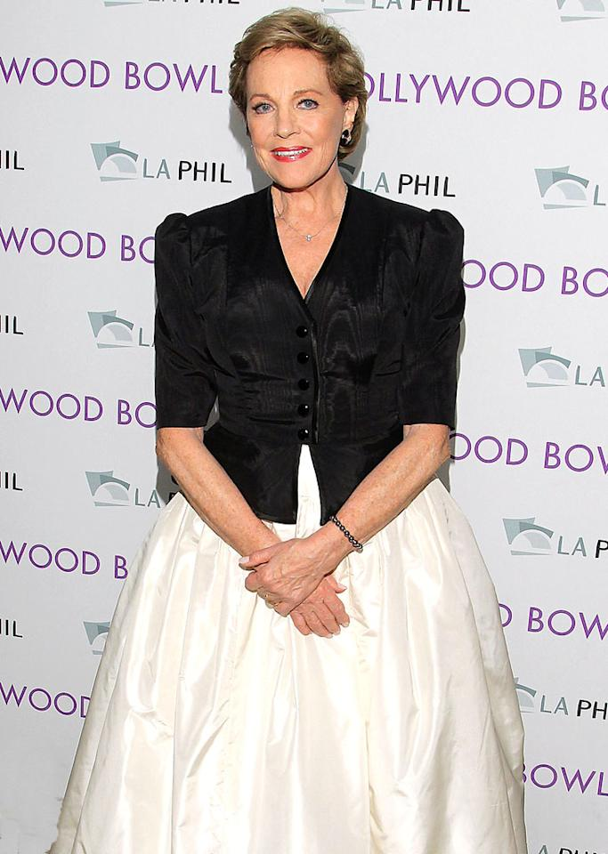 Julie Andrews turns 77 on October 1.