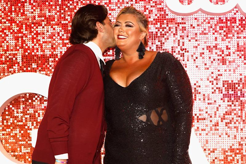 Back on: James Argent and Gemma Collins have reconciled following their 'split' (Tristan Fewings/Getty)