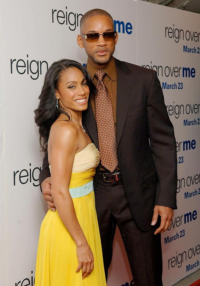 """Will Smith and Jada Pinkett Smith first met in 1995 when she auditioned for the role of Will's girlfriend on """"The Fresh Prince of Bel-Air."""" Although Jada didn't land the role, she did land Will. The couple married in 1997 and have two children. Jamie McCarthy/<a href=""""http://www.wireimage.com"""" target=""""new"""">WireImage.com</a> - March 20, 2007"""