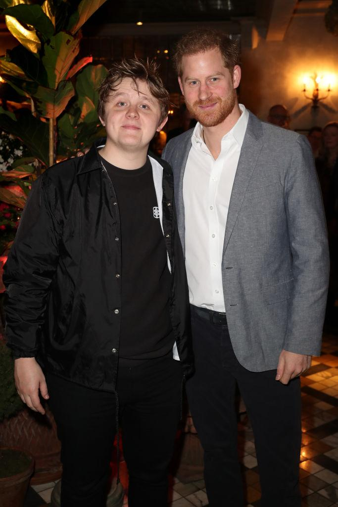 Lewis Capaldi performed at last night's event [Photo: Getty]