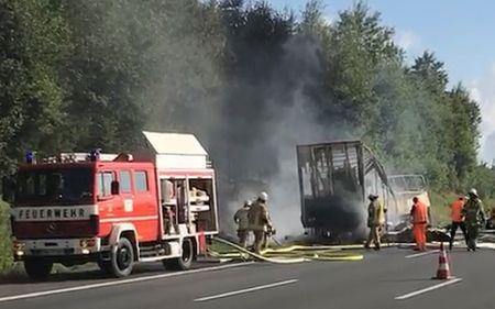 31 injured and 17 feared dead in German bus crash