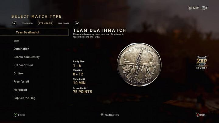 Call of Duty WW2 Advanced Multiplayer Guide -- Find the game mode that fits you