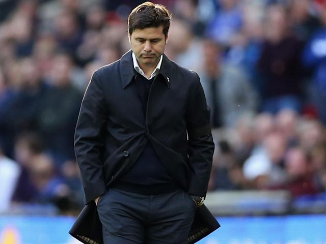 Spurs are yet to win a major trophy since Pochettino took over (Getty)