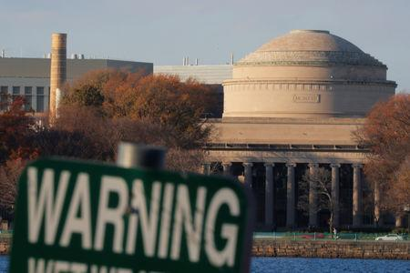 Massachusetts Institute of Technology (MIT) is seen on an embankment of the Charles River in Cambridge, Massachusetts, U.S., November 21, 2018. Brian Snyder