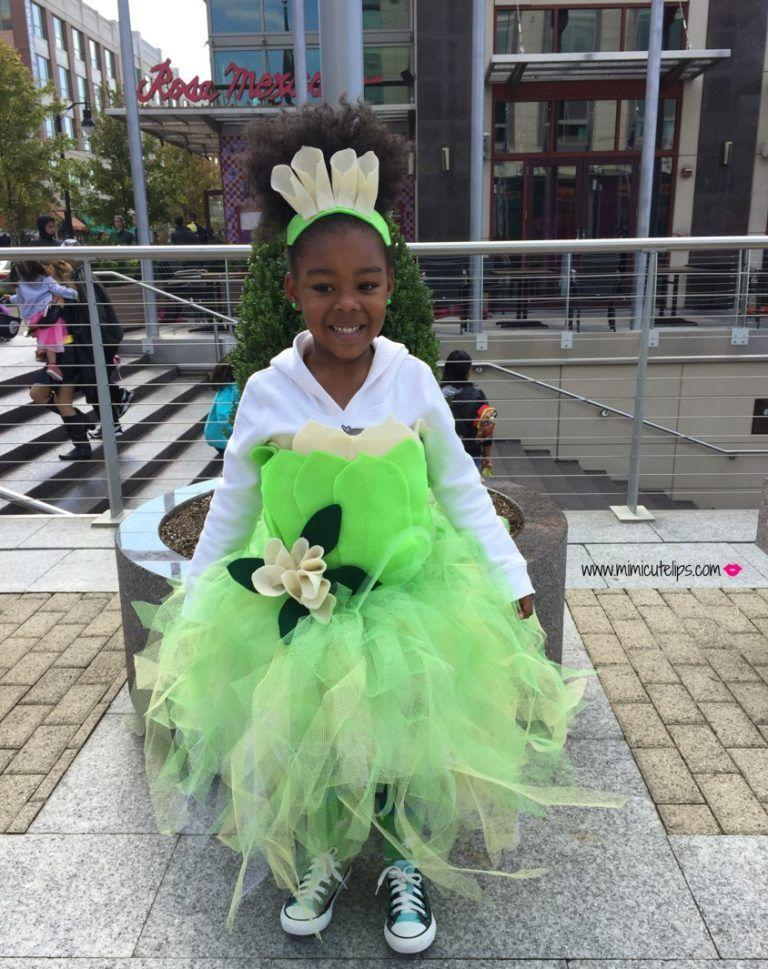"""<p>This darling costume comes together with some felt, tulle, and a hot glue gun. It's all applied to a white sweatshirt to keep the trick-or-treater comfy!</p><p><strong>Get the tutorial at <a href=""""https://mimicutelips.com/2016/10/diy-princess-tiana/"""" rel=""""nofollow noopener"""" target=""""_blank"""" data-ylk=""""slk:Mimi Cute Lips"""" class=""""link rapid-noclick-resp"""">Mimi Cute Lips</a>.</strong></p>"""