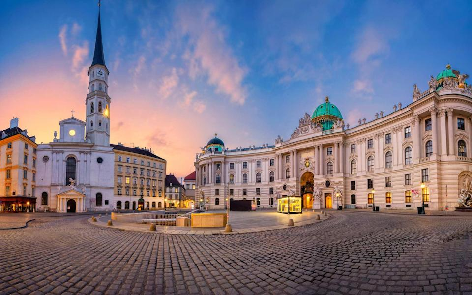 The writer discovers a completely different perspective by pounding Vienna's streets devoid of tourists - Getty