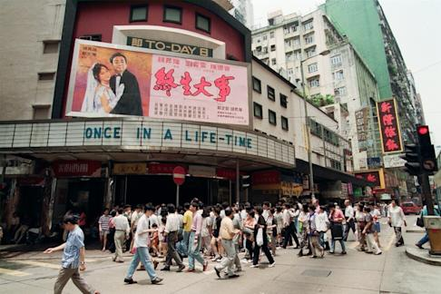 The State Theatre Building in North Point, the very origin of Hong Kong's entry to the world of high arts seen in the 1980s, became a snooker parlour in recent years. Photo: SCMP
