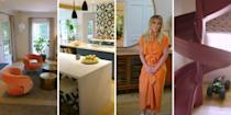 """<p>While we recently got a glimpse inside <a href=""""https://www.cosmopolitan.com/uk/interiors/a34140242/meghan-markle-santa-barbara-interiors/"""" rel=""""nofollow noopener"""" target=""""_blank"""" data-ylk=""""slk:Meghan Markle's new Santa Barbara home"""" class=""""link rapid-noclick-resp"""">Meghan Markle's new Santa Barbara home</a>, it's Hilary Duff's house tour that we're absolutely obsessing over. In a new interview with <a href=""""https://www.youtube.com/channel/UC0k238zFx-Z8xFH0sxCrPJg"""" rel=""""nofollow noopener"""" target=""""_blank"""" data-ylk=""""slk:Architectural Digest"""" class=""""link rapid-noclick-resp"""">Architectural Digest</a>, the Lizzie Maguire actress lets the camera inside her humble abode, showing them around her family home. And from the actual slide(!) to the chicken coop, neon signs and bright pink bathroom, it's such a fun and playful space.</p><p>""""A sunny vibe radiates through every room of the Duff household, a feeling curated across two renovations of the space in the past 8 years,"""" the hour tour's description reads. """"Featuring walls packed with pictures of her family, shelves filled with her children's toys and friendly pets popping up to say hello, Hilary's home is a cheerful reminder of what matters most in life. </p><p>""""Case in point - a typical day includes tending to the chickens in her outdoor coop, enjoying the sunshine, while her son Luca bounces on the backyard trampoline.""""</p><p>We couldn't think of anything more fun. Take a look inside Hilary Duff's house:<br></p>"""