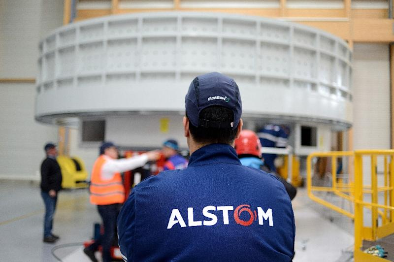 In 2014, French power company Alstom agreed to pay a huge $772-million fine in the US for bribing officials all over the world, including in Egypt, Indonesia and Saudi Arabia (AFP Photo/Jean-Sebastien Evrard)
