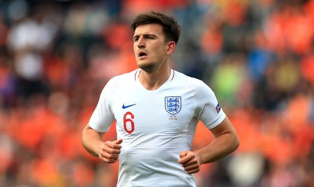 Maguire is an established international (Mike Egerton/PA)