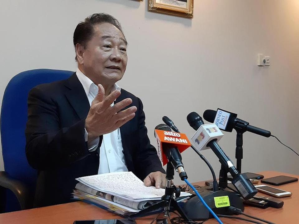 Parti Sarawak Bersatu (PSB) president Datuk Seri Wong Soon Koh said the rumour mills have been going into overdrive that the statewide Emergency will be lifted and the state assembly dissolved this month for an election next month. — Picture bySulok Tawie