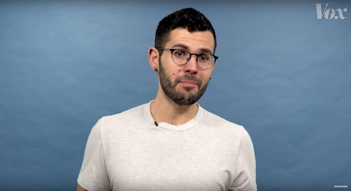 Journalist Carlos Maza tweeted about the flood of homophobic harassment he faces online. (Photo: Vox)