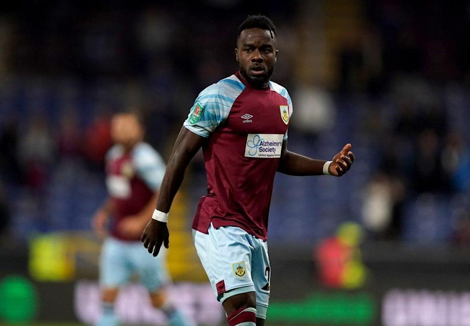 Maxwel Cornet impressed in his first Burnley start on Tuesday night (Martin Rickett/PA) (PA Wire)
