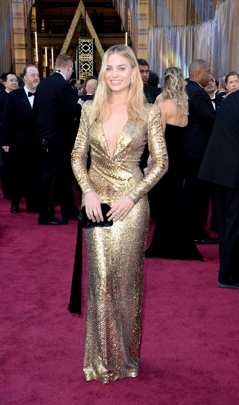 <h2>In Tom Ford</h2> <p>At the Academy Awards in Los Angeles, 2016</p> <h4>Getty Images</h4>