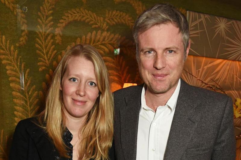 Candidate: Zac Goldsmith and wife Alice (Dave Benett)